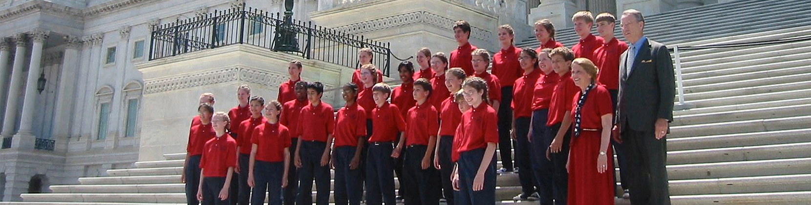 Choir on Steps